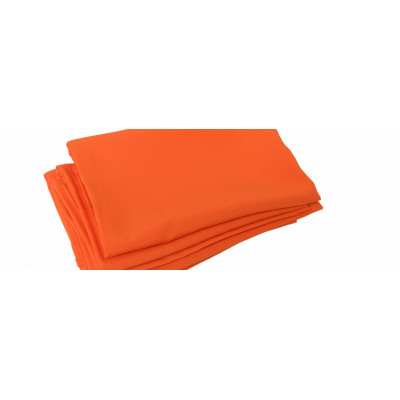 Serviette de table orange
