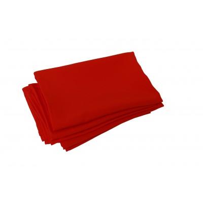 Serviette de table rouge