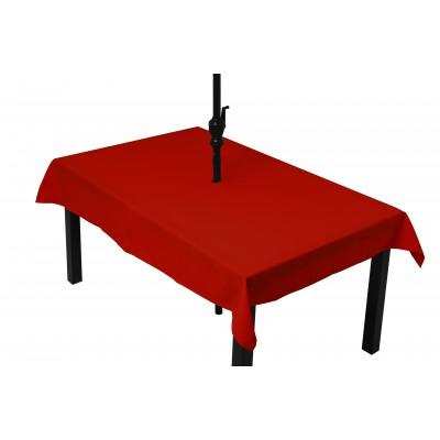 Tablée rouge (parasol)