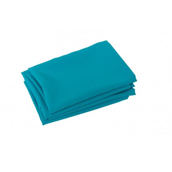 Serviette de table turquoise