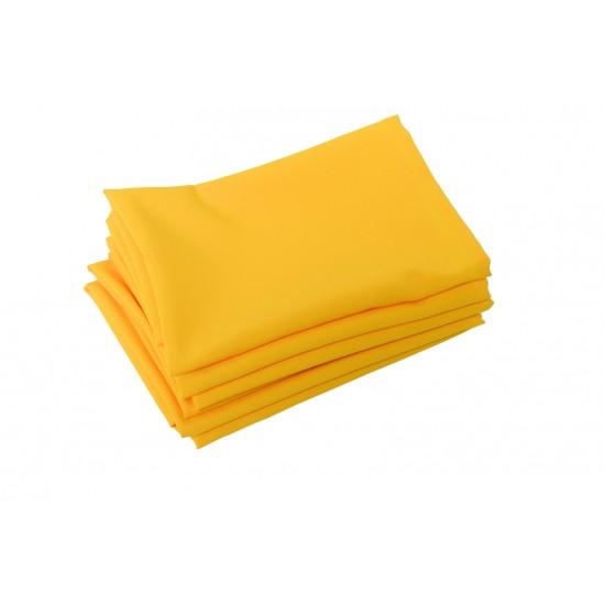 Serviette de table jaune